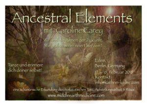 Ancestral Elements - Caroline Carey @ EDEN, Berlin