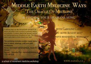 The Oracle of Medicine - Caroline Carey @ Sammasati Retreat Centrum, Tschechien, 1 hour from German border